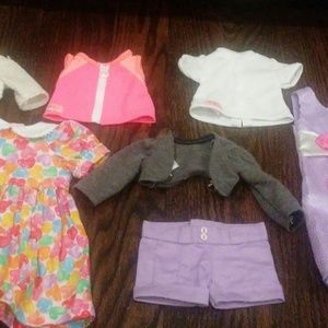 Lot of American Girl sized clothing (👍 for 🎁!)